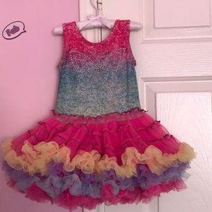 Popatu  tutu dress size 3 toddler